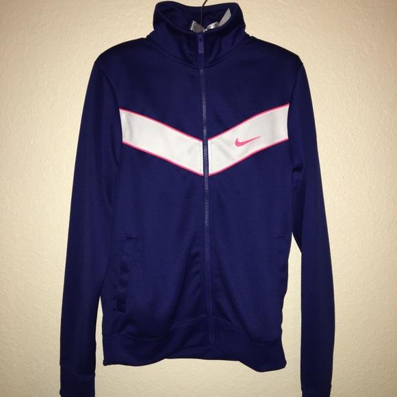 volverse loco Cercanamente Derrotado  Nike Jackets & Coats   Blue Tracksuit Jacket   Poshmark